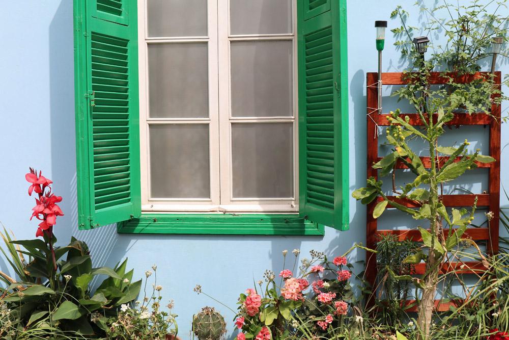 Besonders schön sind die vielen bunten Kontraste in Nikosia auf Zypern
