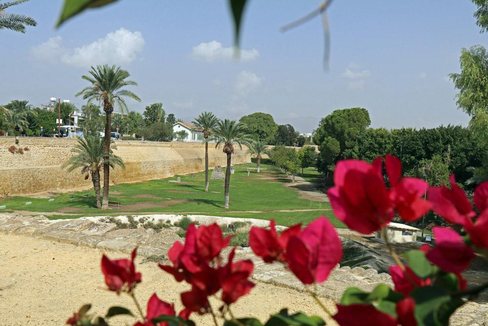 Bis heute sind große Teile der alten venezianischen Stadtmauer in Nikosia erhalten geblieben