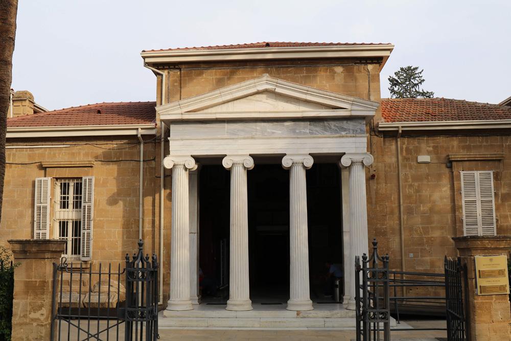 Klein aber fein ist das Cyprus Museum in Nikosia