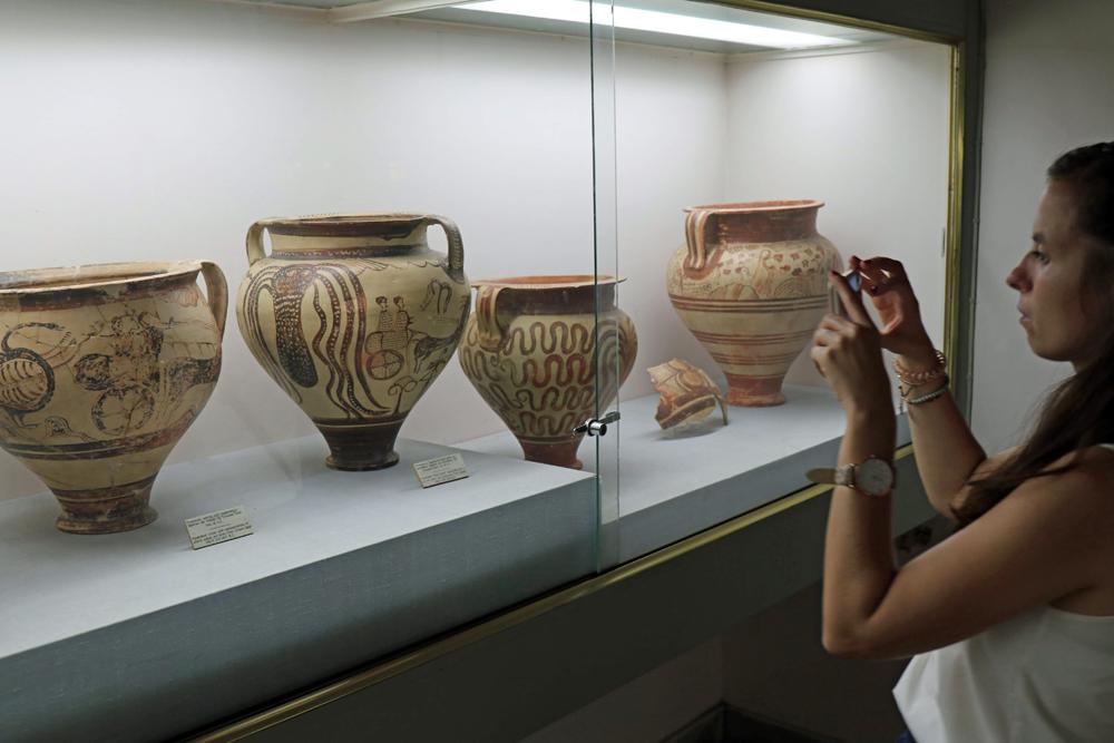 Unzählige gut erhaltene Stücke sind zu sehen