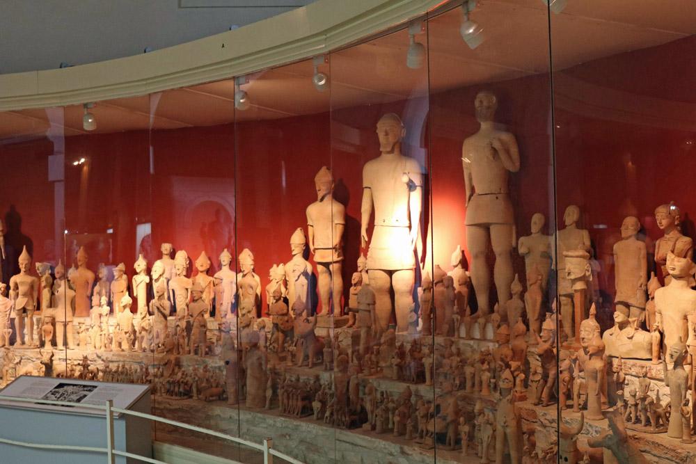 Die ausgestellten Exponate im Cyprus Museum in Nikosia sind überraschend zahlreich