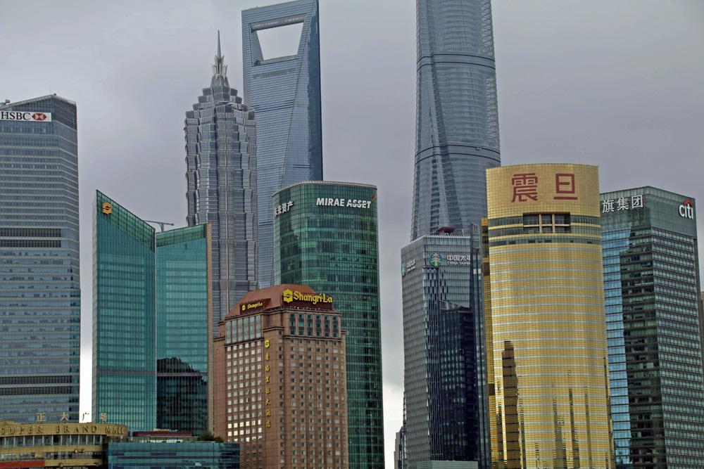 In Shanghai wimmelt es nur so von Hochhäusern. Einige davon brechen Rekorde