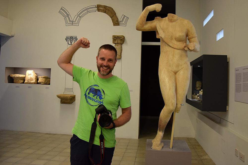 Dauerbrenner im Cyprus Museum sind Statuen von Aphrodite und Adonis. Foto: travelroads.de