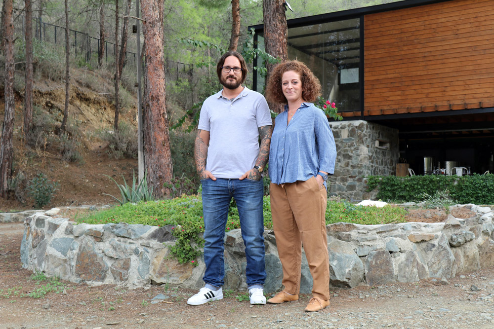 Kristina Apostolou und Lefteris Mohianakis habe ich kürzlich auf Zypern getroffen. Auch ihre (Erfolgs-)Geschichte ist im Buch beschrieben.