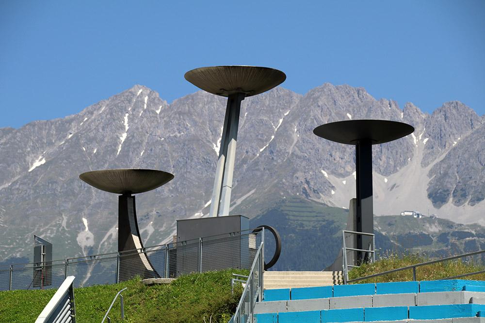 1964 und 1976 fanden am Bergisel in Innsbruck olympische Spiele statt