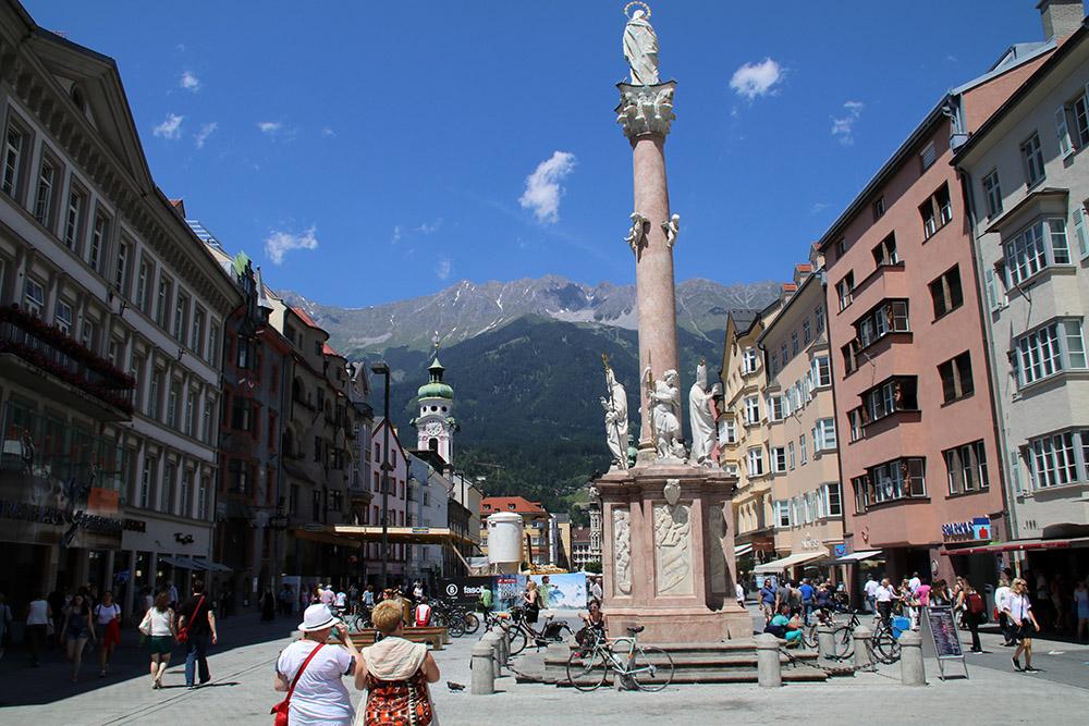"""Innsbruck, Die """"Hauptstadt der Alpen"""" verströmt südländisches Flair"""