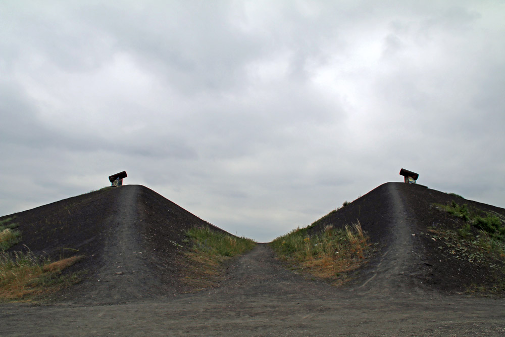 Die Halde Rungenberg in Gelsenkirchen