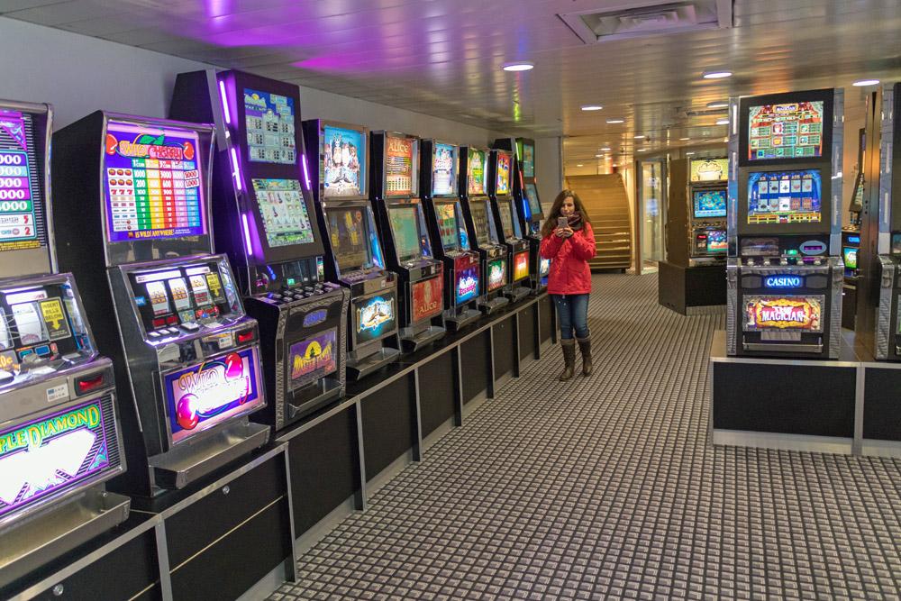 Spielautomaten auf der DFDS King Seaways