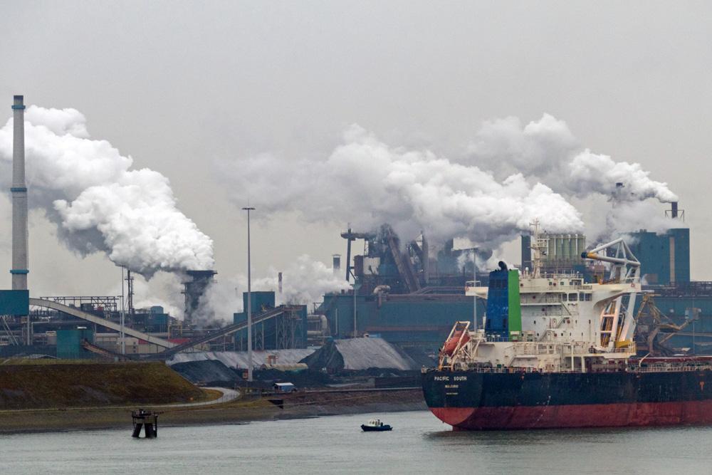 Hafen von IJmuiden - Abfahrtsort der Schiffe von DFDS zu einer Minikreuzfahrt nach Newcastle