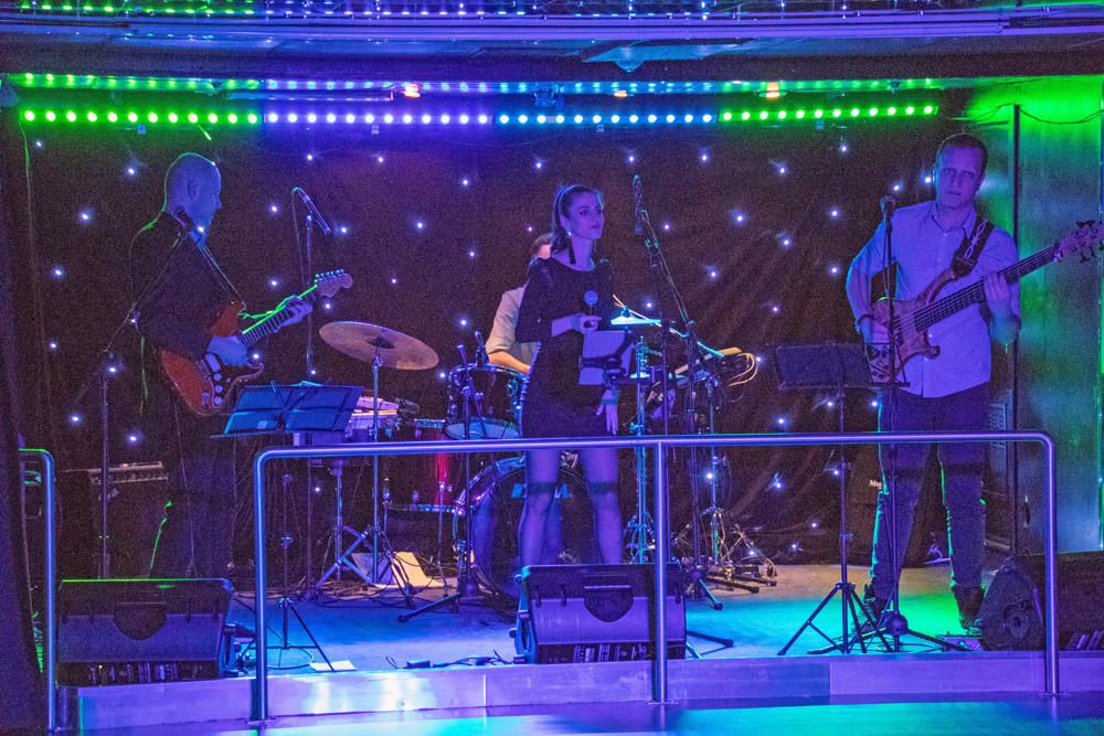 Auch Livemusik gibt es auf den Schiffen von DFDS Seaways