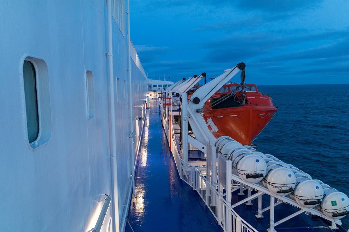 Mit DFDS von Amsterdam nach Newcastle