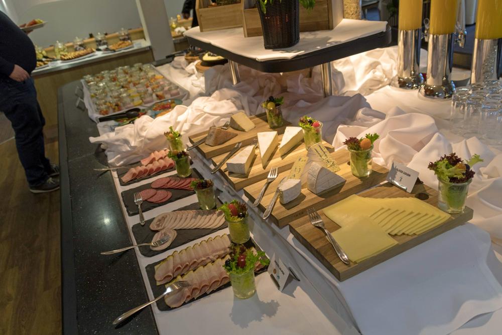 Frühstücksbuffet auf der DFDS King Seaways
