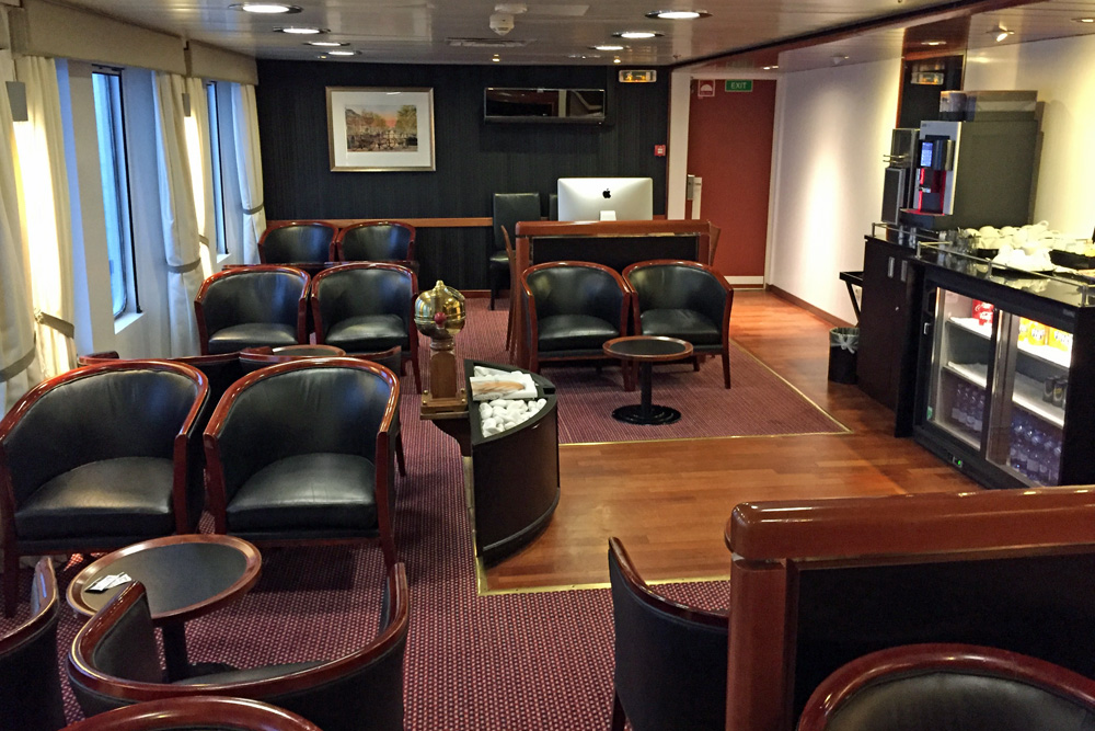 Commodore Deluxe Lounge auf der DFDS King Seaways