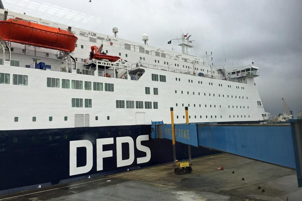 DFDS King Seaways Schiff bzw. Fähre nach England