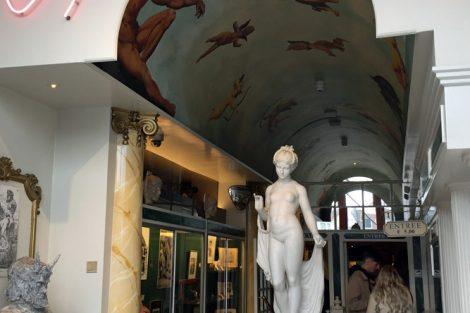 Der Eingang zum Sexmuseum in Amsterdam
