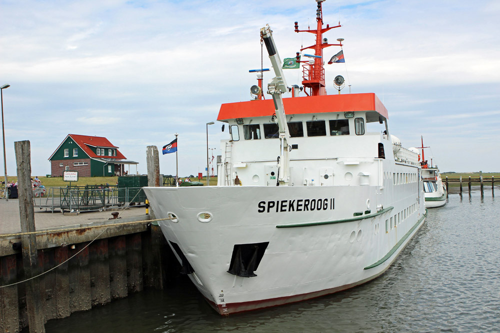 Die Fähre nach Spiekeroog