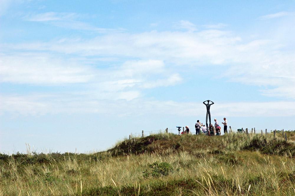Statue De Utkieker auf Spiekeroog
