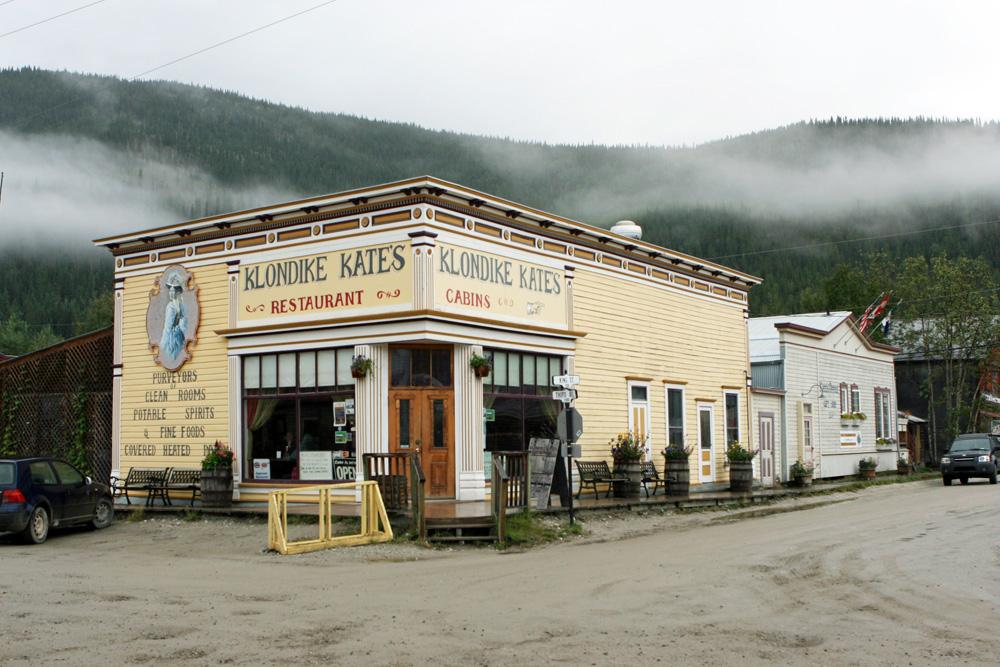 Klondike Kates in Dawsons City im Yukon