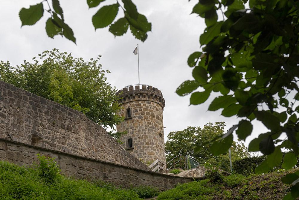Die Burgruine Tecklenburg ist Start der Wanderung auf dem Hexenpfad