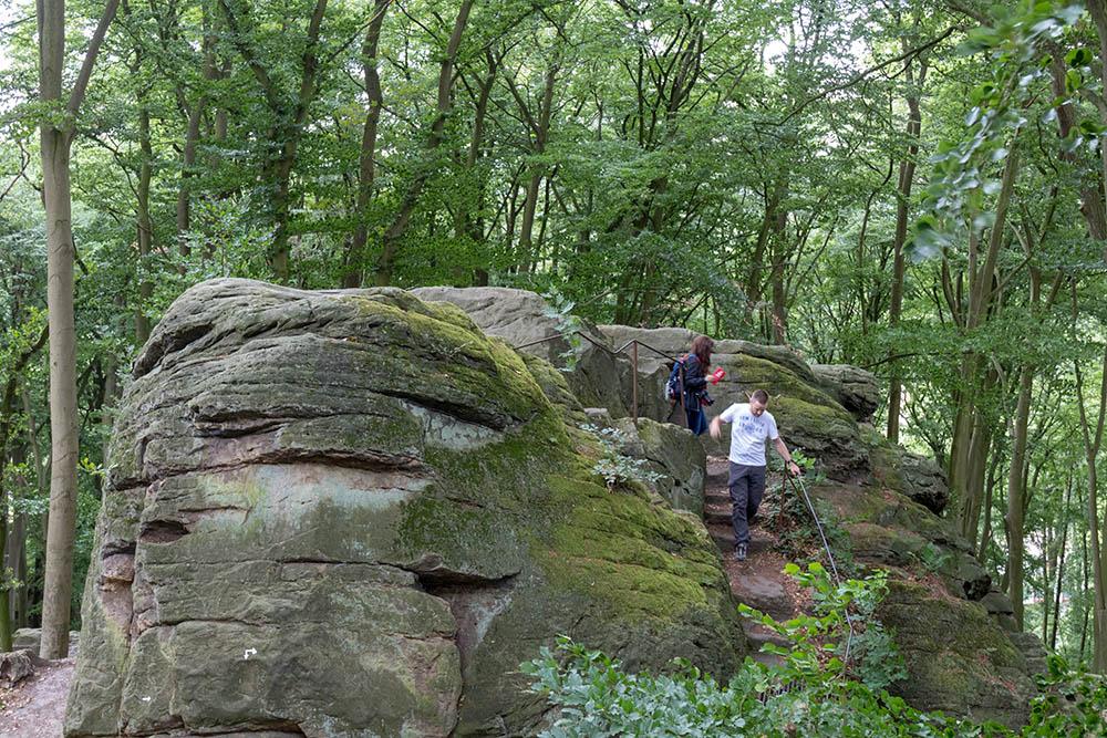 Die Felsen der Hexenküche in Tecklenburg