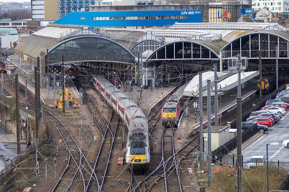 Bahnhof Newcastle