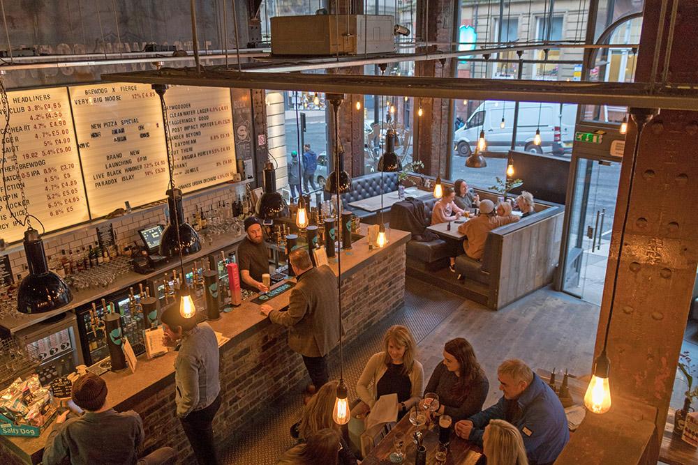 Brewdog Pub in Newcastle England