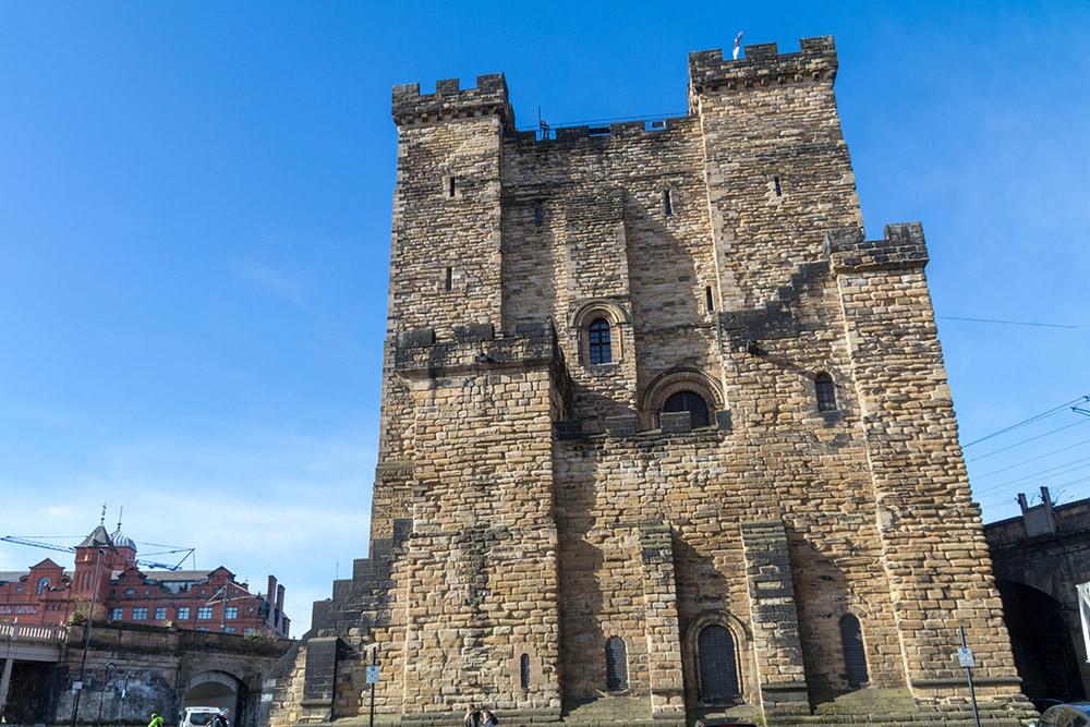 Die Burg von Newcastle