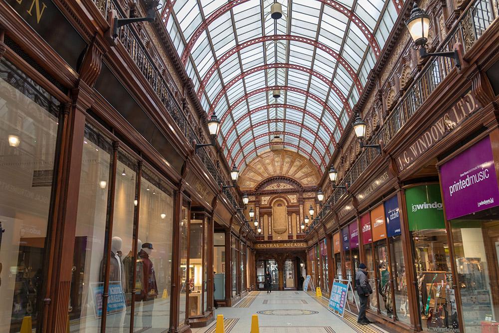 Newcastle Einkaufspassage Central Arcarde