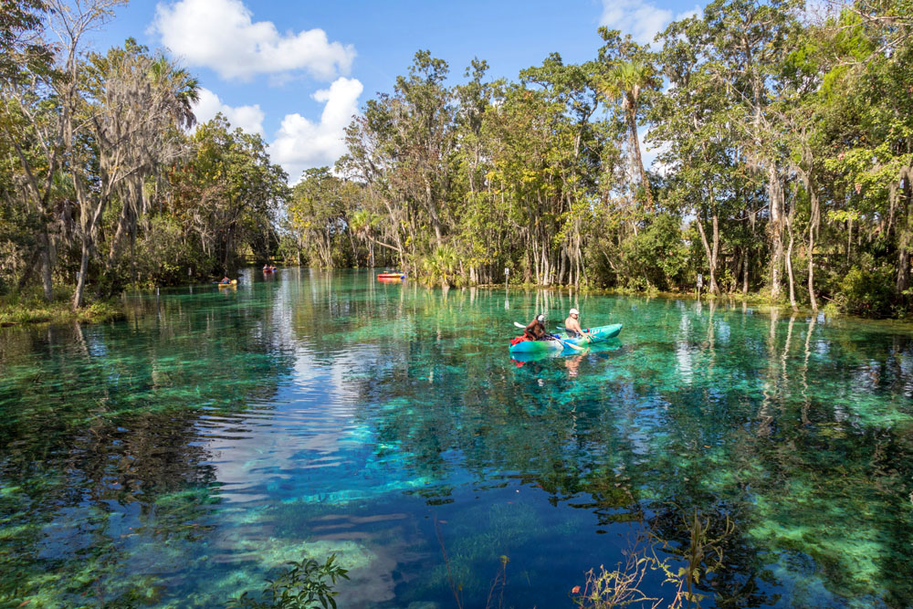 Three Sisters Springs Crystal River Florida