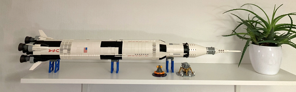 Lego Apollo Saturn V Rakete