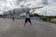 Raketengarten im Kennedy Space Center