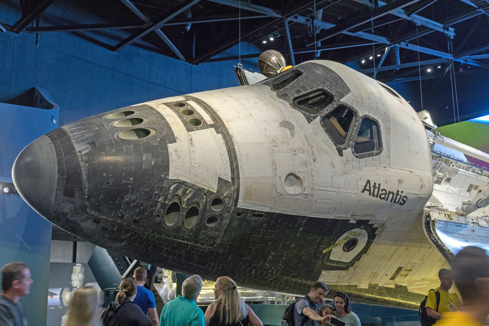Das Space Shuttle Atlantis gehört zu den Highlights im Kennedy Space Center