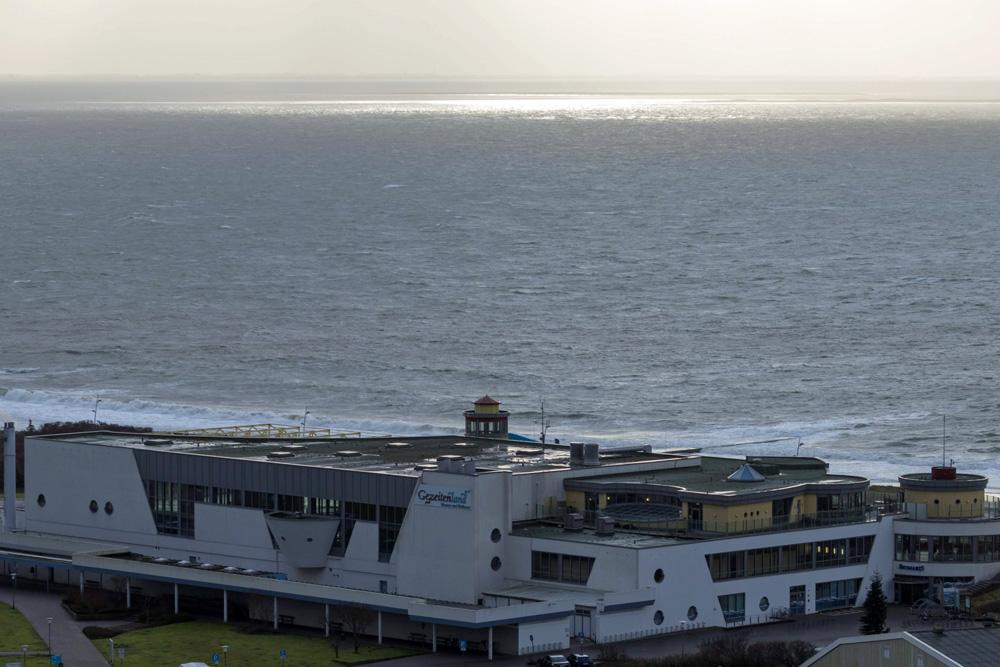 Das Gezeitenland Borkum liegt direkt am Strand.