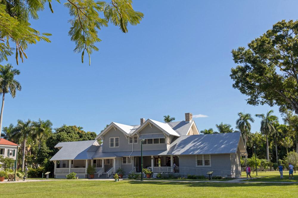 Direkt neben dem Haus von Edison steht das ehemalige Anwesen von Henry Ford.