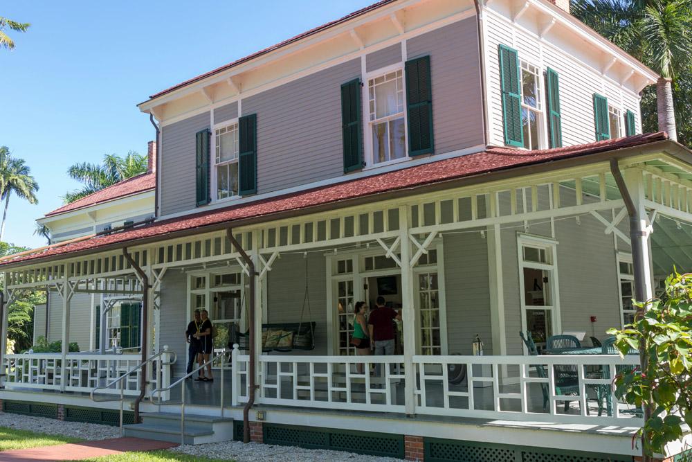 Neben dem Haupthaus ließ Edison dieses Gästehaus errichten.