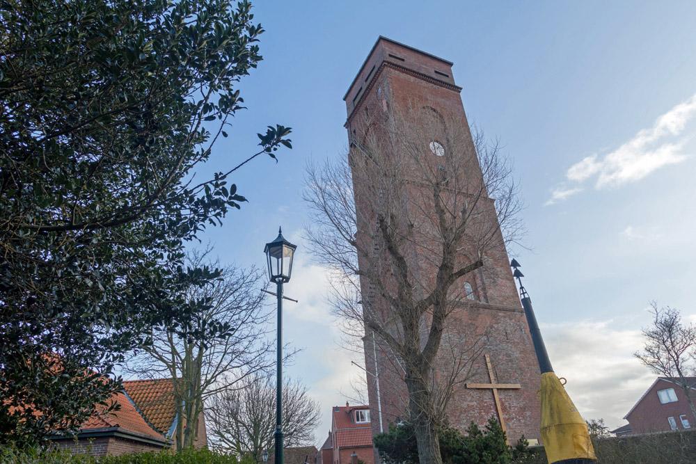 Sehenswert ist auch der alte Leuchtturm.