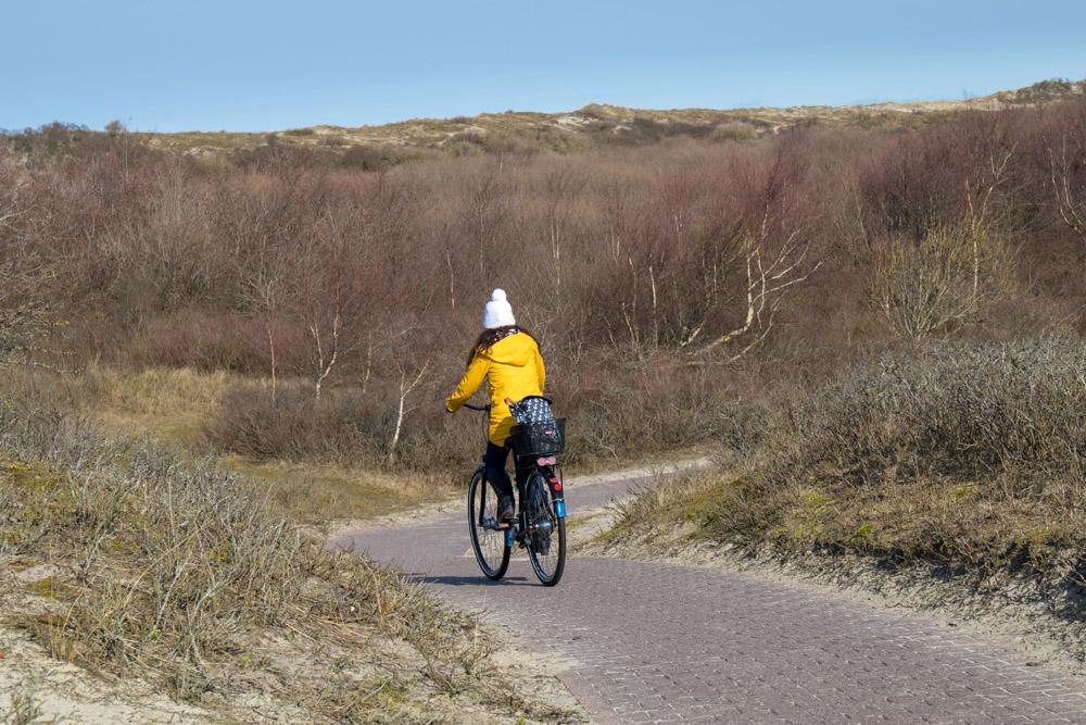 160 Kilometer Radwege gibt es auf der Insel Borkum