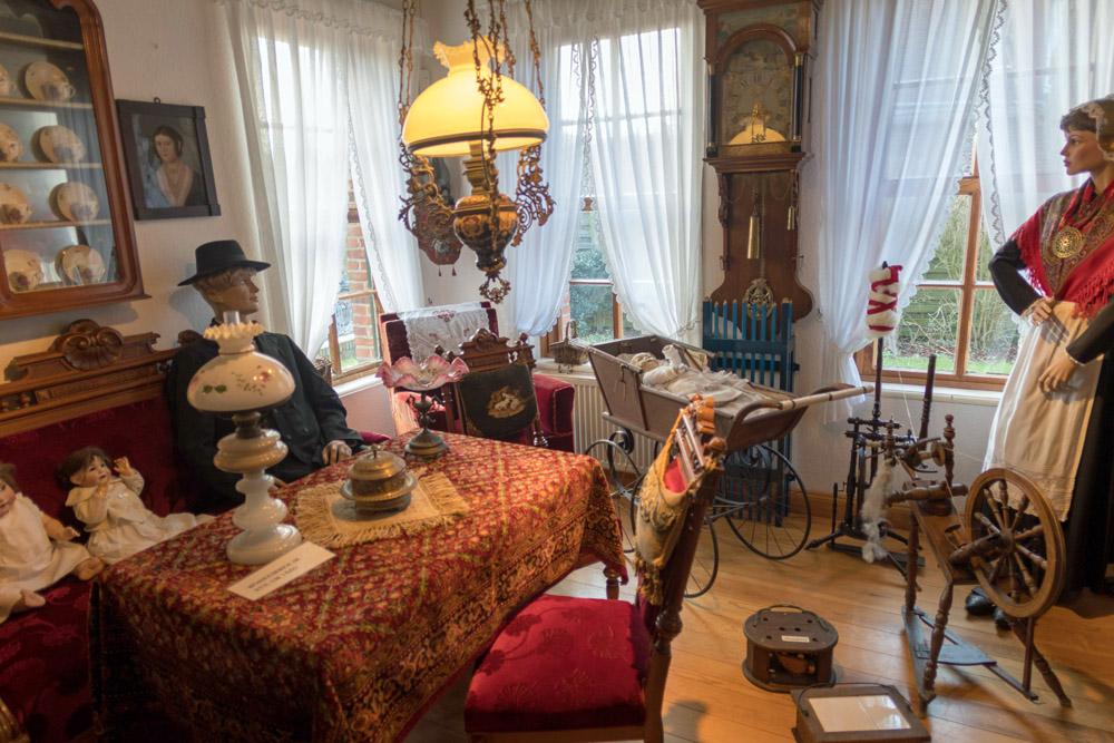 Besucher können im Heimatmuseum Borkum einen Blick in die Vergangenheit werfen.