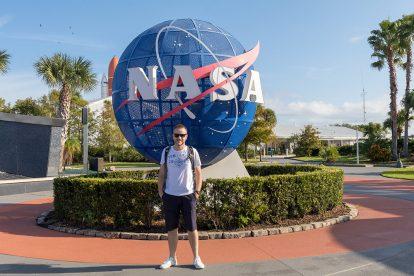 Ich werde der erste Blogger im Weltraum