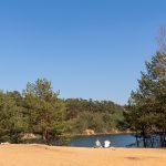 Niedringhaussee an der Teutoschleife Sloopsteener Seenrunde