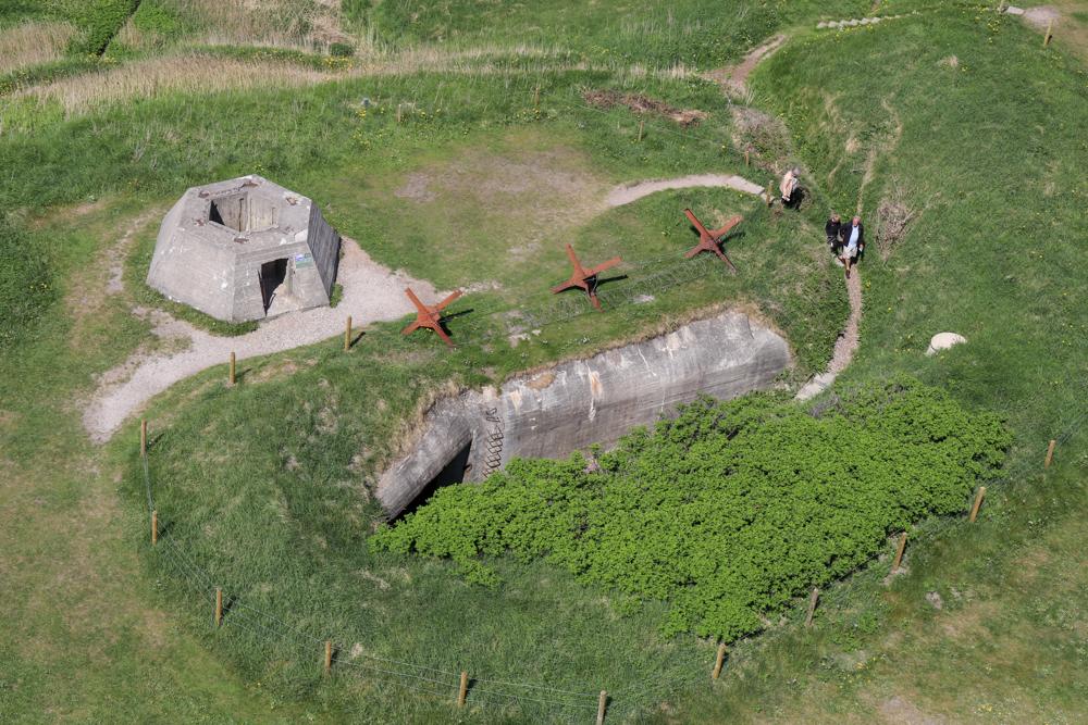 Direkt am Leuchtturm in Hirtshals befindet sich auch das Bunkermuseum.