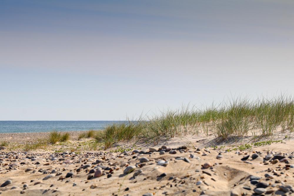 Dieser Strand, rund einen Kilometer östlich von Thorup Strand, ist besonders einsam.