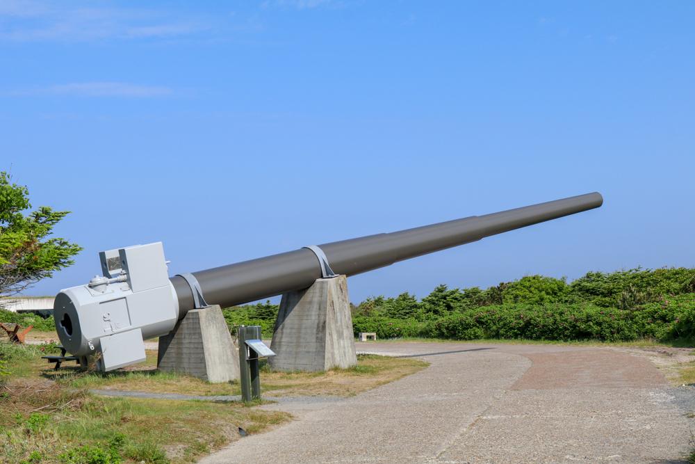 In der Festung Hanstholm sind viele Überbleibsel des Atlantikwalls aus dem 2. Weltkrieg zu sehen.