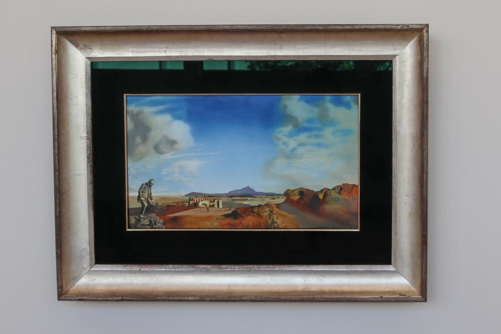 """Salvador Dalí, """"Der Apotheker von Ampurias auf der Suche nach absolut nichts"""""""