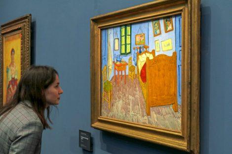 Das Zimmer von Van Gogh in Arles