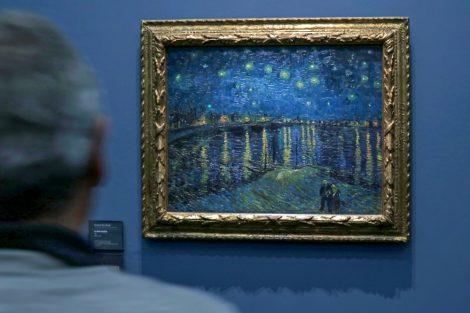 Vincent van Gogh Sternennacht über der Rhône