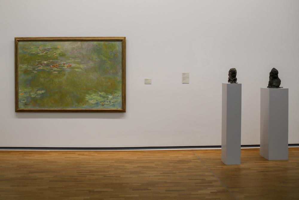 """""""Der Seerosenteich"""" con Claude Monet"""