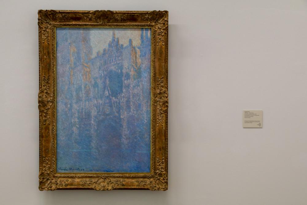 """""""Kathedrale von Rouen"""" von Claude Monet"""