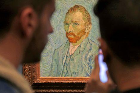 Selbstbildnis von Vincent van Gogh
