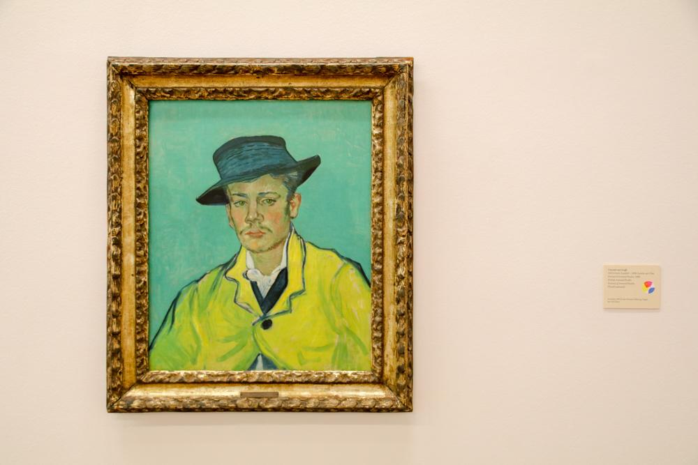"""""""Porträt Armand Roulin"""" von Vincent van Gogh"""